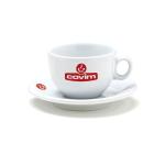 Брандирана чаша с чинийка за капучино на Covim - топ цена само в CodCaffee.com