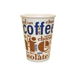Arte Чаши за топли напитки 180 мл./ 100 бр. Картонени чаши