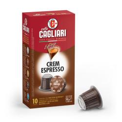 Caffe Cagliari Crem Espresso Nespresso система 10 бр. Кафе на капсули