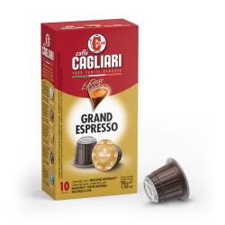 Caffe Cagliari Grand Espresso Nespresso система 10 бр. Кафе капсули