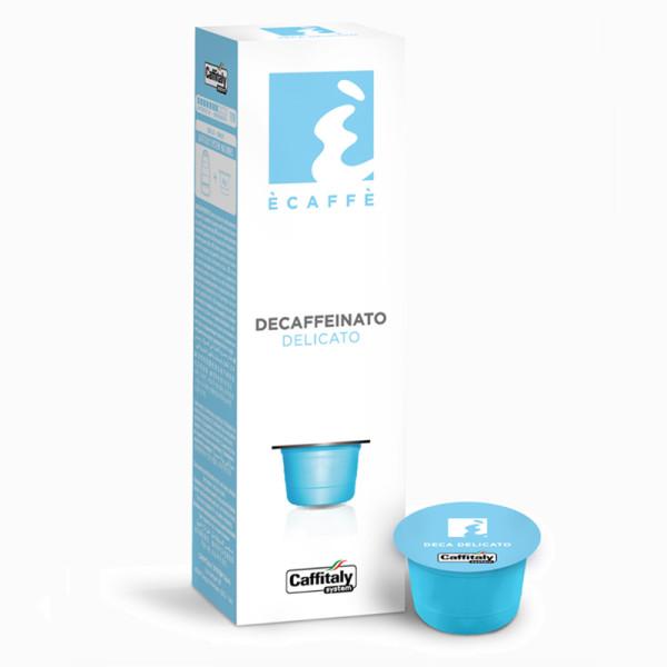 Безкофеиново кафе на капсули Деликато на Екафе за Caffitaly система на топ цена само в CodCaffee.com