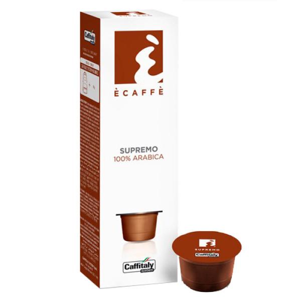 Кафе капсули Супремо на Ecaffe за Caffitaly System на топ цена само в CodCaffee.com