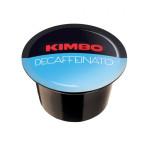 Кафе капсули Kimbo Caps B Decaffeinato Blue система на топ цена в CodCaffee.com