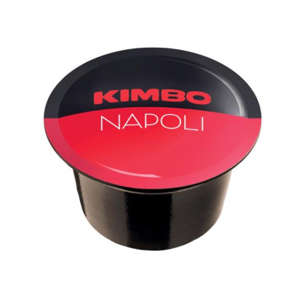 Кафе капсули Kimbo Caps B Napoli Blue System на топ цена в CodCaffee.com