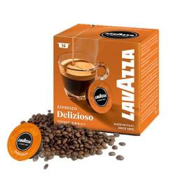 Lavazza Espresso Delizioso A modo mio система 16 бр. Кафе капсули