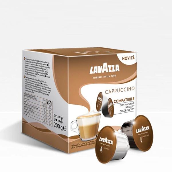 Lavazza Cappuccino - 8+8 капсули Dolce Gusto система 16 бр. Кафе капсули