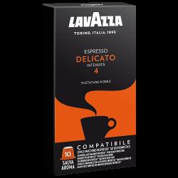 Lavazza Espresso Delicato Nespresso система 10 бр. Кафе капсули
