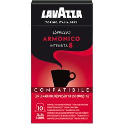 Lavazza Espresso Armonico Nespresso система 10 бр. Кафе капсули