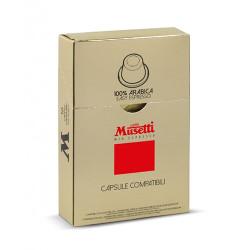 Musetti mio espresso 100% Arabica Nespresso Система 10 бр. Кафе капсули
