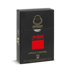 Musetti mio espresso Cremissimo Nespresso Система 10 бр. Кафе капсули