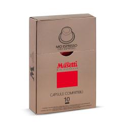 Musetti mio espresso Mio Espresso Nespresso Система 10 бр. Кафе капсули