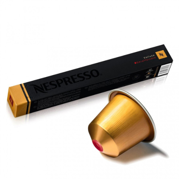 Цена от 12.90 лв. за капсули Nespresso Volluto Decaffeinato само в CodCaffee.com