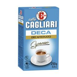 Caffe Cagliari Deca 250 гр. Безкофеиново мляно кафе