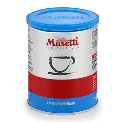 Musetti mio espresso Azzurra Decaffeinated 250 гр. Мляно кафе