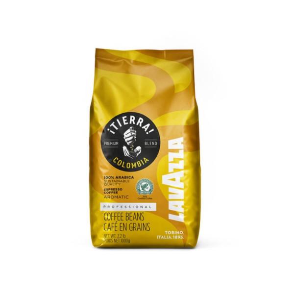 Tierra Colombia 100% Arabica кафе на зърна на Lavazza на топ цена само в CodCaffee.com