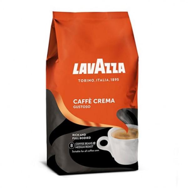 Топ Цена на 1кг. кафе зърна Lavazza Caffe Crema Gustoso само в CodCaffee.com