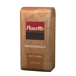 Piacetto Crema Traditionale 1 кг. Кафе на зърна