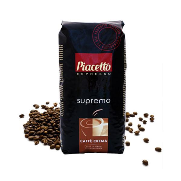 Цена от 46.80 лв за Piacetto Еспресо Крема кафе на зърна 1кг. само в CodCaffee.com
