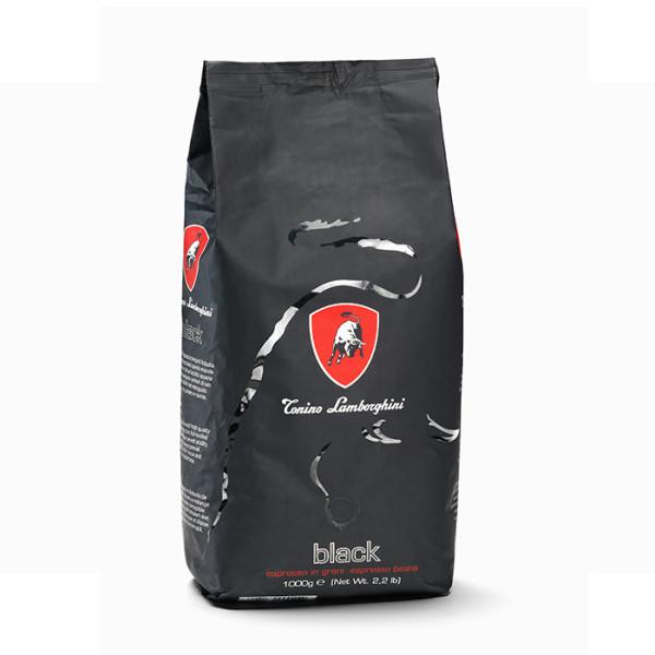 Кафе на зърна Tonino Lamborghini Black Blend 1 кг. ТОП цена | Cod Caffee