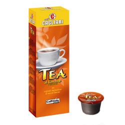Caffe Cagliari Теа Limone Caffitaly система 10 бр. Чай на капсули