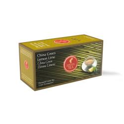 Julius Meinl Китайски зелен чай с лимон и лайм 25 бр. Чай на пакетчета