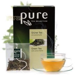 Pure Зелен чай с лимон 25 бр. Чай на пакетчета