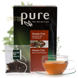 Pure Масала чай 25 бр. Чай на пакетчета