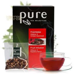 Pure Малина и Хибискус 25 бр. Чай на пакетчета