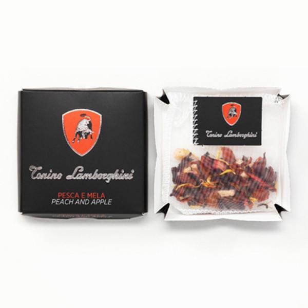 Чай на пакетчета Тонино Ламборгини праскова и ябълка  25 бр. ТОП цена  | Cod Caffee