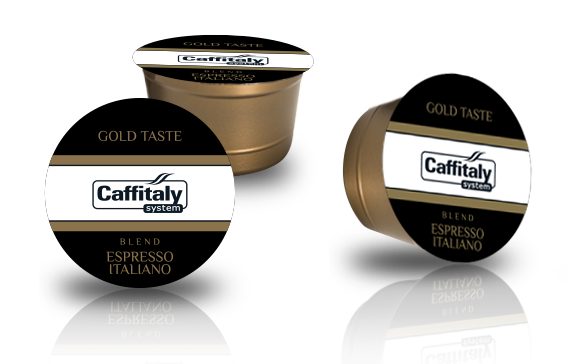Caffytaly Gold Taste Espresso Italiano е с кадифен аромат и силен вкус